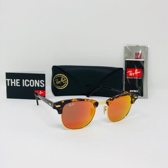 ea9dcd44adc RayBan 51mm RB3016 Tortoise ClubMaster sunglasses. NWT. Ray-Ban.  M 5b52d7ca5bbb80844c8d738a. M 5b52d7cd81bbc86e10412276.  M 5b52d7cc9264af7f8153faa0